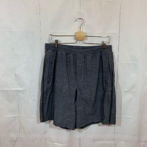 Lululemon Gray Athletic Shorts Extra Pockets XL